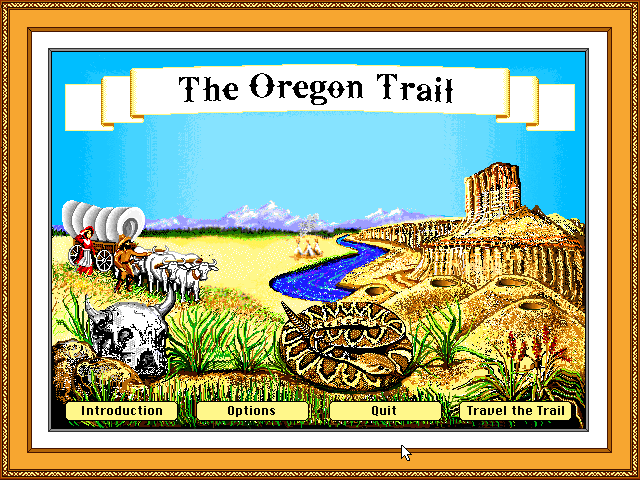 Oregon Trail · js-dos